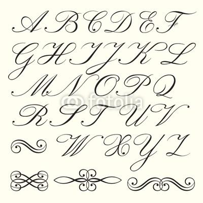 Ecriture Stylée Alphabet ecriture stylée alphabet #hz86 – humatraffin