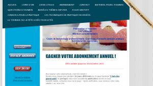 Technologie pour CAP Pâtisserie