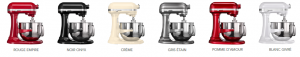 Couleurs du KitchenAid Artisan 5KSM7580X