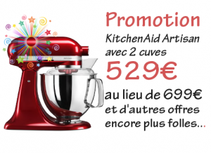 Promotion kitchenaid