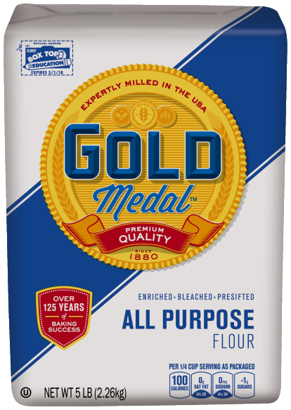 All Purpose flour Gold Medal Brand for croissants