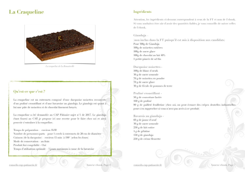 recette CAP et complète de la craquelinev1