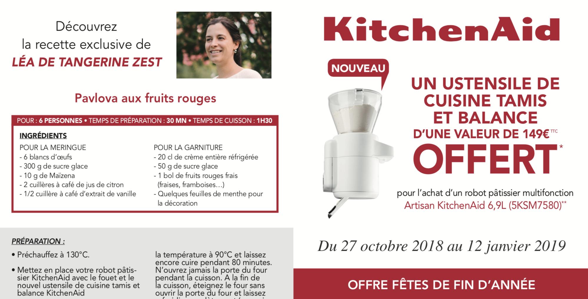 Offre KitchenAid