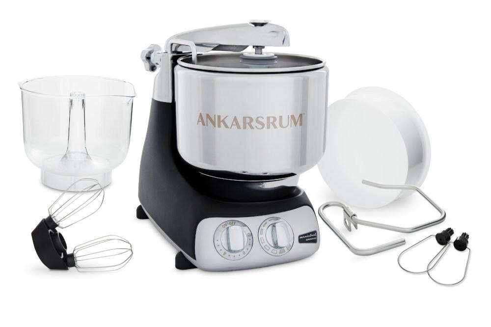 Ankarsrum Noir Mat avec accessoires de base